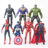 Colección De 7 Figuras Articuladas De Avengers Infinity War