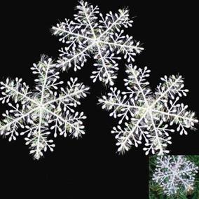 120 Flocos De Neve Festa Enfeite De Natal Jardim Frozen