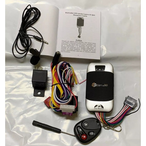 Rastreador Gps Bloqueador Veicular Tk-303g Controle Remoto