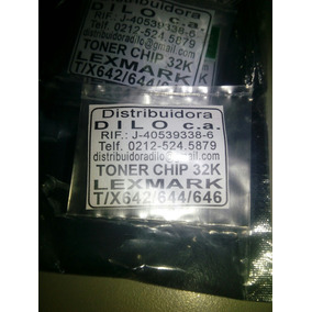 Chip Lexmark X640 X642 X644