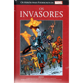 Col Salvat Marvel Os Invasores - Novo/lacrado