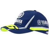 Boné Vr46 Valentino Rossi 46 Yamaha Dual Motogp 2018 Azul 45415c7ef53