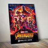 Mural Poster Avengers Infinity War 40x60 Vengadores Marvel