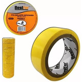 Fita Isolante Amarela Antichama Com 10 Unidades 18mmx5m