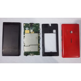 Nokia Lumia 505 Negro Rojo Para Reparar