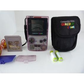 Game Boy Color Atomic Purple Transparente