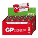 10pcs Bateria Pilha 9v Gp Power Plus Original Nota Fiscal