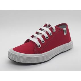 4a4b56b7 Fabrica De Zapatillas De Lona Economicas - Zapatillas Rojo en ...