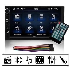 Central Multimídia Universal Mp5 Espelham. Bluetooth 2 Din