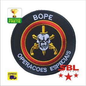 Patch Operações Especiais Policial Do Rio De Janeiro Bope