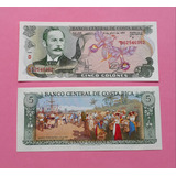 Billete De Costa Rica De 5 Colones