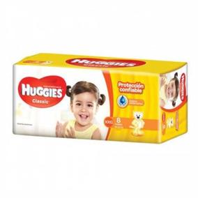 Pañales Huggies Clas.reg Xxg 8u - Por 1 Unidad