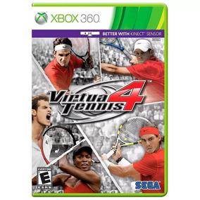 Jogo Virtua Tennis 4 Xbox 360 Mídia Física