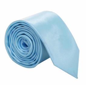 Gravata Azul Tiffany Slim 10 Unidades - Gravatas no Mercado Livre Brasil b254b6adce