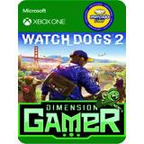 Watch Dogs 2 Xbox One N0 Codigo - Offline