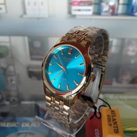 Relógio Atlantis Original Casual Feminino A Prova D