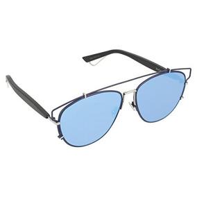 af3152637b Dior Pqu Azul Negro Technologic Aviator Gafas De Sol Lente