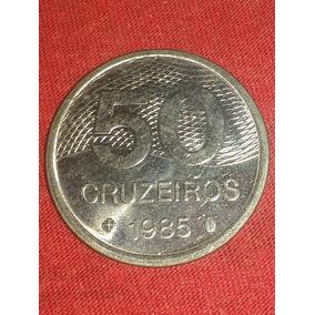 Moeda De 50 Cruzeiro De 1985
