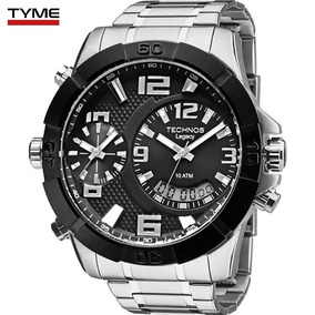 Relógio Technos Masculino Legacy Extra Gde T205fk/3p C/ Nfe