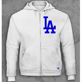Sudadera Cierre Mlb Dodgers Los Angeles Tigre Texano Designs