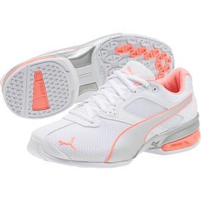 d77b7bf367 Tenis Puma Tazon 6 Metallic Mujer Running 3.5 Mx Blanco