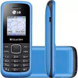 Celular Lg B220 -semi-novo Antena Rural Azul