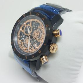 bc624ce3053d0 Relogio Bvlgari Quadrado De Prata Luxo - Relógios De Pulso no ...