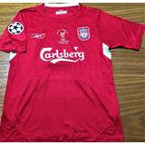 Camisa Liverpool Gerrard Despedida - Futebol no Mercado Livre Brasil 0e8b31410aac0