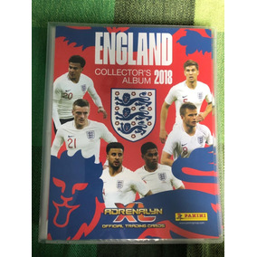 Cards Adrenalyn Xl England Copa 2018 Panini Completo World