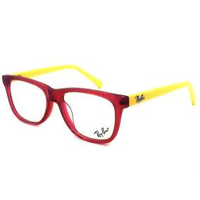 95f52cb287009 Armação Oculos Grau Original R8035 Infantil Red Acetato