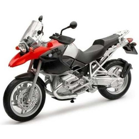 Moto Bmw R 1200 Gs Escala 1:12 New Ray.impecable!