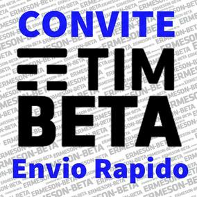 Convite Ou Migração Tim-beta - 10gb - 600min - Envio Rapido