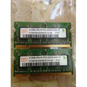 Memorias 512mb Rx16 Pc2-4200s-444-12 Marca Hynix