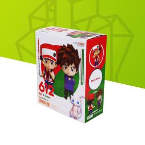 Action Figure Pvc - Pokémon Red Green Mew 10cm
