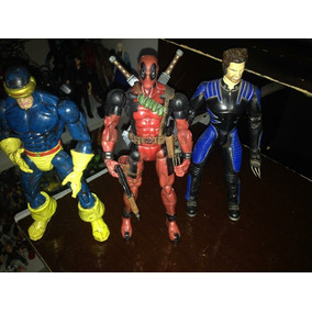Lote De Bonecos X Men Marvel Legends