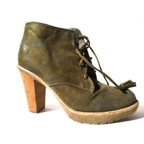 Zapatos Muy Altos Marca Asos Nº 38 Cuero Negro. Usado - RM (Metropolitana)  · Zapatos Verde Musgo Altos Mujer Marca Tennis.   15.000 6e839bbd20a8