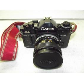 Maquina Fotografica Antiga Canon A-1 Made In Japan