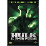 Dvd - Hulk - El Hombre Increíble - El Piloto Original
