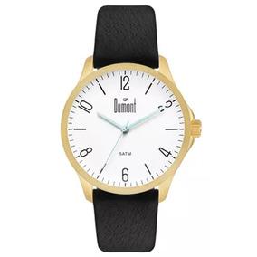 6e6fba9fc4210 Relogio Dumont Masculino Berlim Dourado - Relógios De Pulso no ...