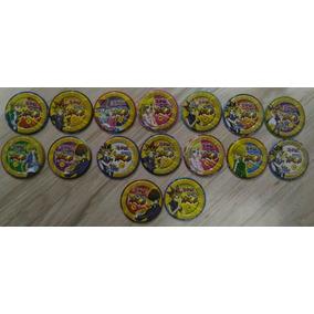 Coleção Incompleta De 16 Tazos Yu-gi-oh! De Metal - Anos 90