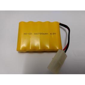 Bateria Recarregavel Aa 700 Mah 6.0 V Carro Controle Remoto