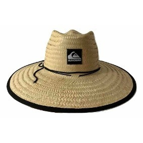 Chapéu De Palha Quiksilver Estampado - Chapéus no Mercado Livre Brasil aa56844cc75