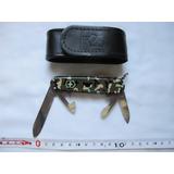 Canivete Victorio Inox Camuflado Com Coldre
