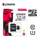 Memoria Micro Sd Kingston 32gb Clase 10 80x Canvas Select