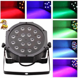 Tacho Luces Led Audioritmico Dmx 18w Dj Bar Disco Eventos