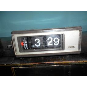 Reloj Despertador Vintage Tipo Flip O Cascada Funciona Cosmo