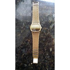 Relógio A Corda Tissolt Swiss 10 Micros De Ouro Antigo