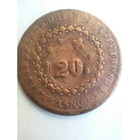 Moeda Antiga 20 Réis 1826 Rara