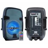 Bafle Amplificado Inalámbrico Profesional 8 2,500w Msa-5708