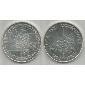 Moeda Portugal 1000 Escudos 1998 27 Gramas Prata .50 Liga S+